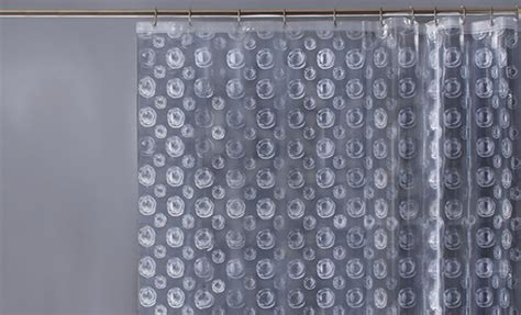 fabric or vinyl shower curtain maytex peva and fabric shower curtains