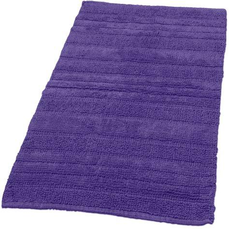 badvorleger lila badematte badteppich badezimmerteppich aus baumwolle