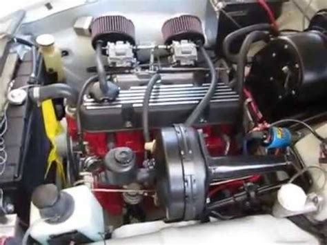volvo b20 engine volvo 122s with new performance b20 engine