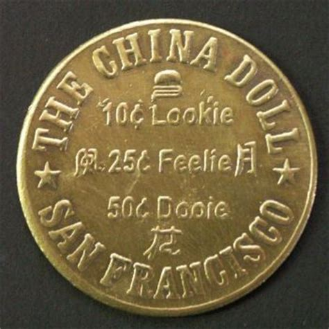 the china doll dodge city coin 27 best images about brothel coin tokens on