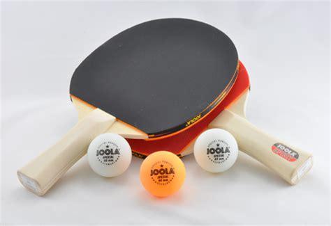 ping pong paddle  ball set  sharper image