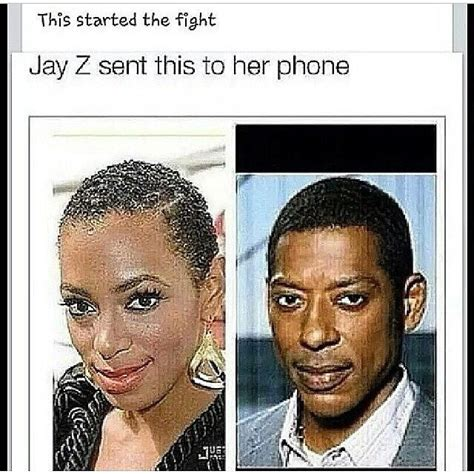 Beyonce And Jay Z Meme - 15 best images about best solange memes on pinterest