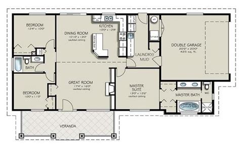 house plans 2 bedrooms 2 bathrooms two bedroom two bathroom apartment 4 bedroom 2 bath house