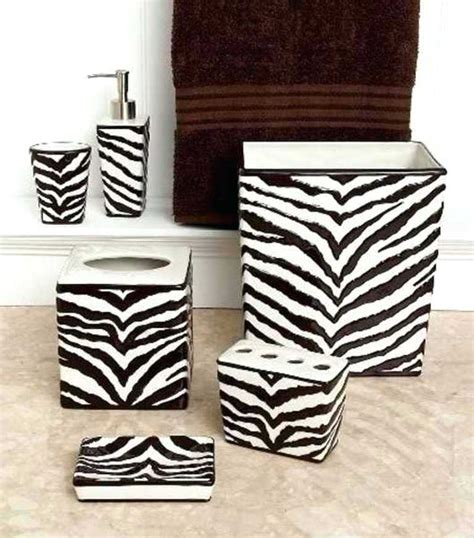 Animal Print Bathroom Sets by Zebra Print Bathroom Accessories Sets Bathroom Faucet And Accessories Landscape Trailers