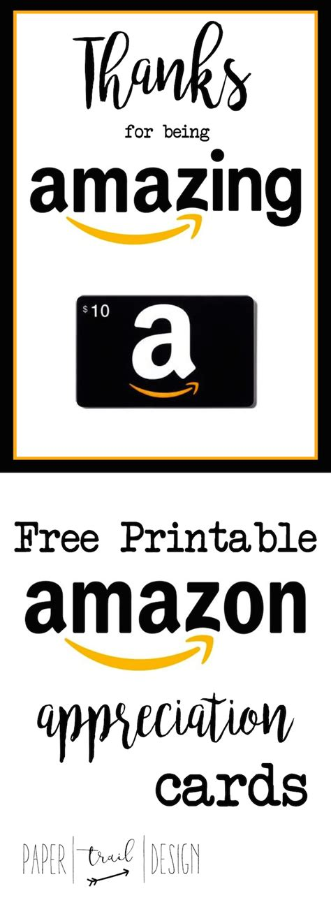 Amazon Gift Card Printable For Teacher - featured archives page 2 of 6 paper trail design