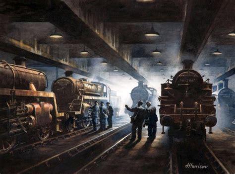 railway artist john harrison gra