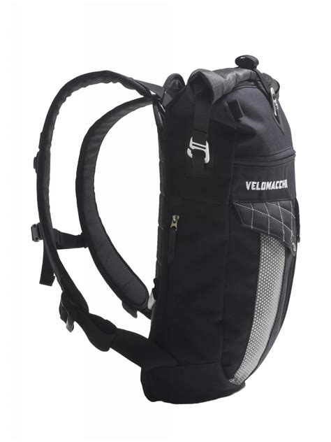waterproof motorcycle velomacchi roll top backpack