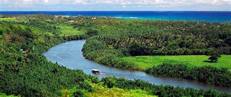 kauai boat tours on the royal coconut coast - Kauai River Boat Tours