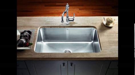 single bowl undermount kitchen sinks youtube