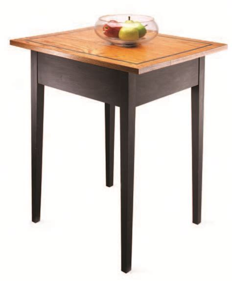 popular woodworking i can do that i can do that a tapered leg table popular woodworking