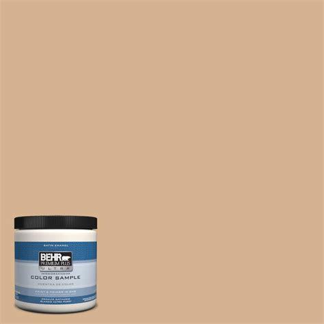 behr premium plus ultra 8 oz hdc nt 04 creme de caramel interior exterior satin enamel paint