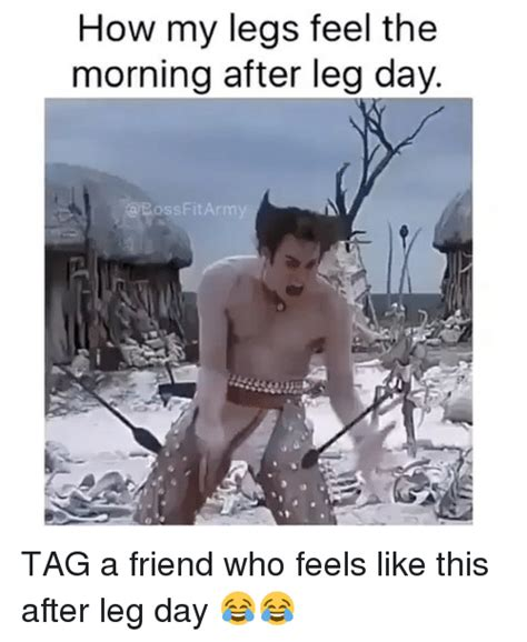 Morning After Meme - 25 hilarious after leg day meme sayingimages com