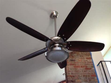 Hampton Bay Altura 56 in. Brushed Nickel Ceiling Fan 69156