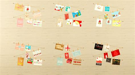 Sims 3 Gift Card - my sims 3 blog christmas cards on a string by lis0