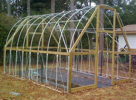 Carport With Storage Plans by My Almost Hurricane Proof Pvc High Tunnel Tropical
