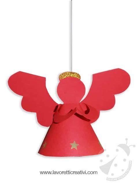 addobbi natalizi da appendere al soffitto decorazioni natale angelo 3d da appendere lavoretti creativi