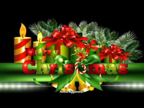 merry christmas wishes  beautiful animated picssonglyricsmusic youtube