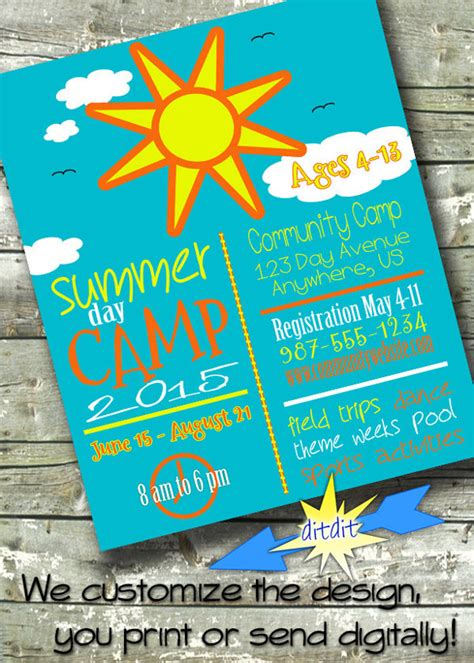 13 Summer C Flyer Templates To Download Sle Templates Summer Flyer Templates