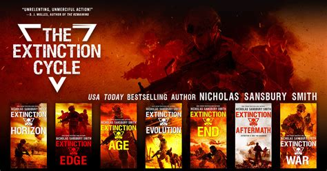 extinction war the extinction cycle books extinction cycle nicholas sansbury smith