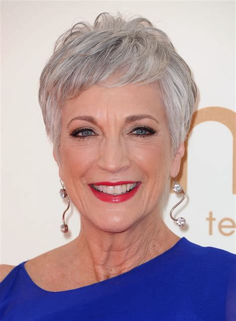 short hairstyles grey hair pictures short hair styles for grey hair