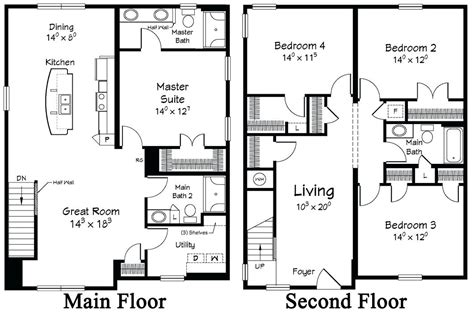 two story home plans plans two storey house designs and floor plans