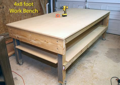 work bench wheels pdf diy workbench on wheels plans download workbench plans