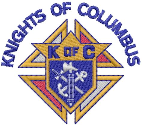 embroidery design knights of columbus mead artworks embroidery design knights of columbus 2 19
