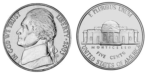 printable picture of quarter us nickels faith heritage