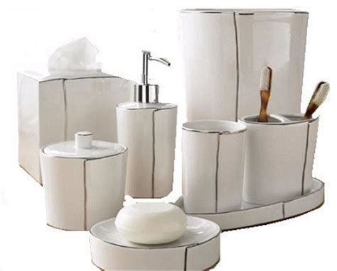 Parigi Luxury Bath Accessories Complete Set Bathroom Bathroom Accessories Sets Luxury