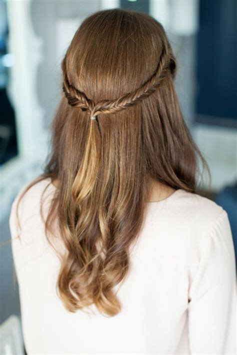 easy hairstyles on pinterest 271 best half up half down with braids images on pinterest