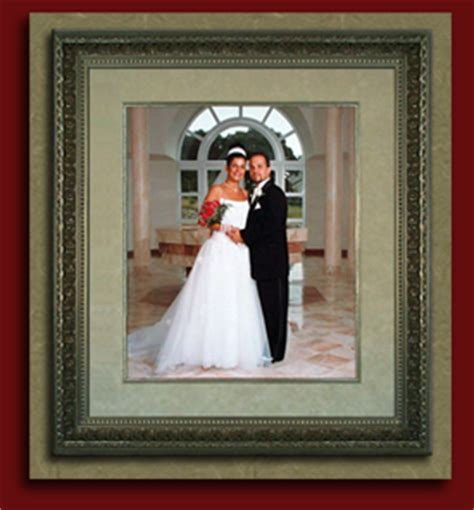 get pictures framed framed wedding invitations and wedding portrait framing