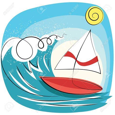 cartoon sailboat simple cartoon sailboat pictures sailing in the sea