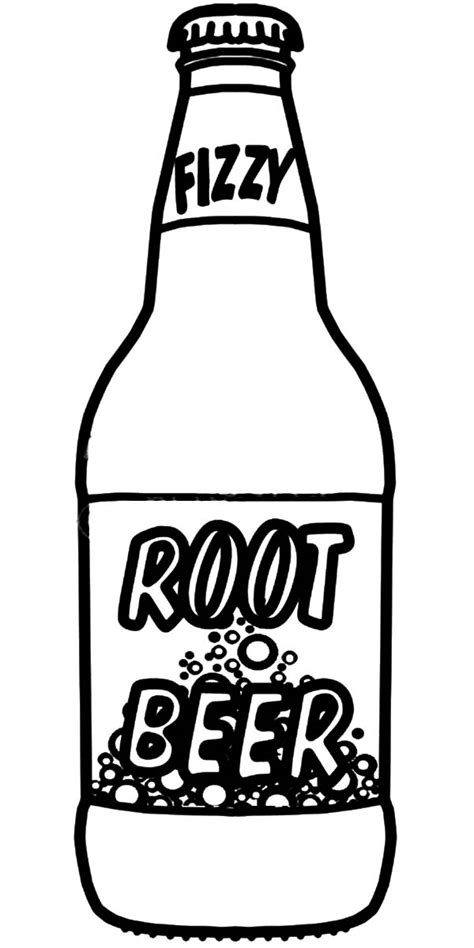 Soda Colour Bottle My Bottle soda bottle coloring page coloring pages