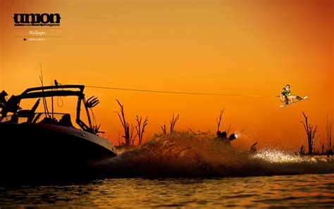 wall paper wallpaper 15 union wakeboarder