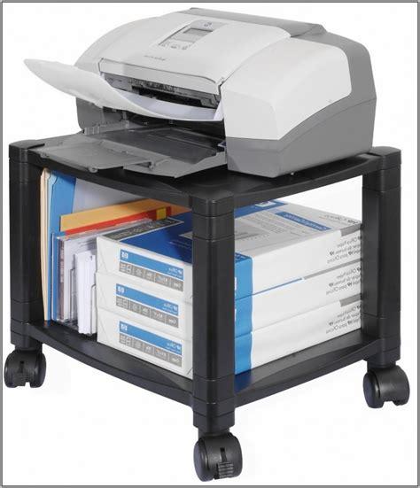 printer stand desk printer stand for desk desk home design ideas