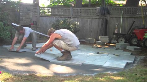 What Do I Need To Build A Patio by How To Build A Bluestone Patio Part Two