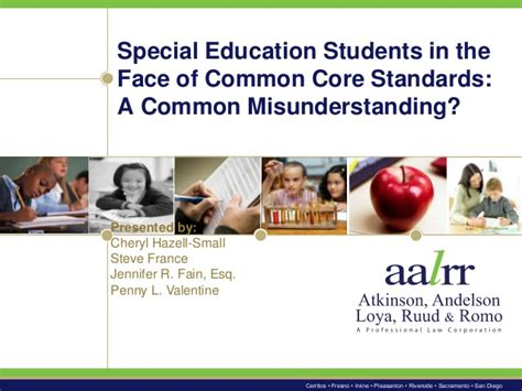 common iep and special education special education students in the of common standards a co