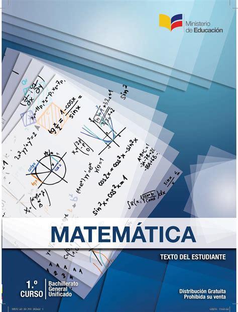 libro matematicas de cuarto de basica ecuador texto matem 225 ticas 1 bgu by david vera issuu