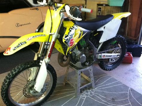 2002 Suzuki Rm125 Suzuki Rm In New Jersey For Sale Find Or Sell