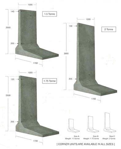 in wall l concrete l walls concrete products concrete retaining