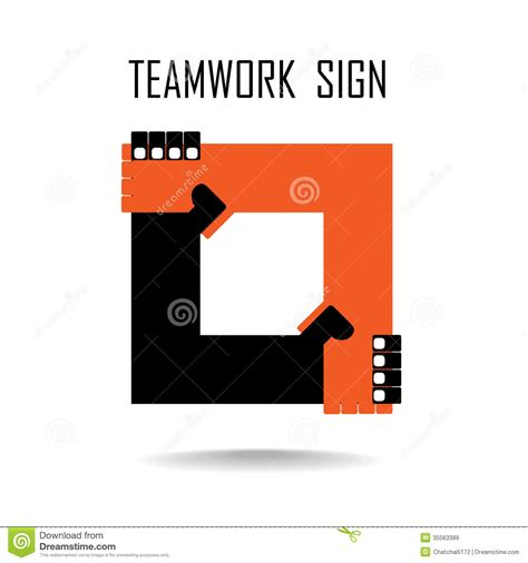 Sign Design Template Handshake Abstract Sign Design Template Business Royalty Free Stock Images Image 35563389