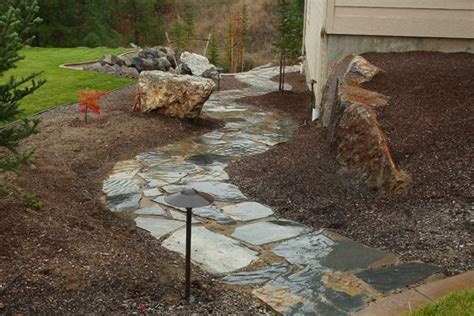 how to install flagstone landscaping network