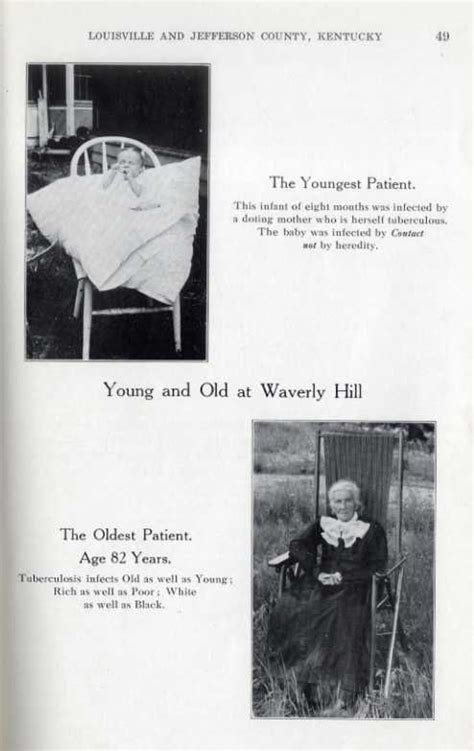 Waverly Sanatorium Records Youngest And Oldest Patient At Waverly Hill Sanatorium Louisville Ky Tuberculosis
