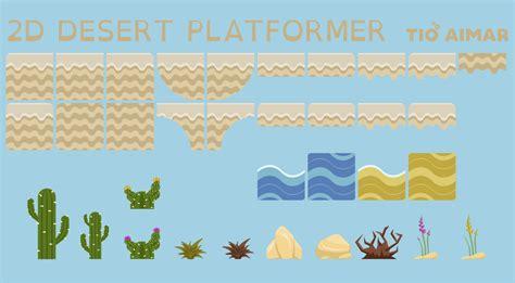 desert pack 2d platformer desert pack opengameart org