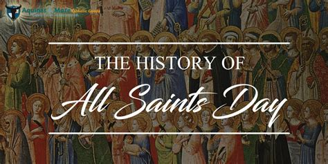 st day origin history of all saints day the catholic counter