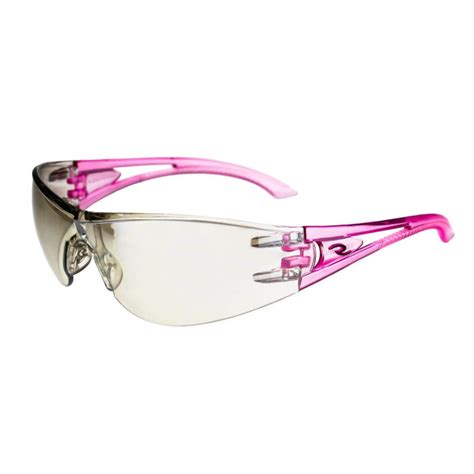 safety pink color radians optima i o pink temples safety glasses