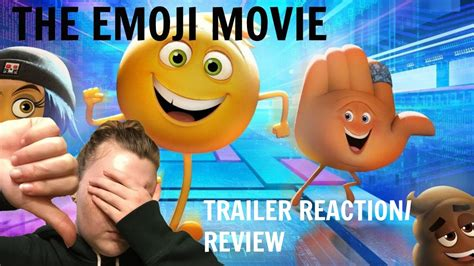 emoji film raten the emoji movie teaser trailer reaction review youtube