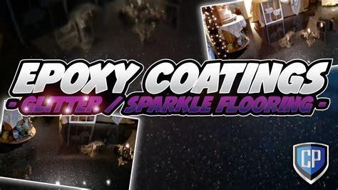 Epoxy Coatings   Glitter / Sparkle Flooring   YouTube