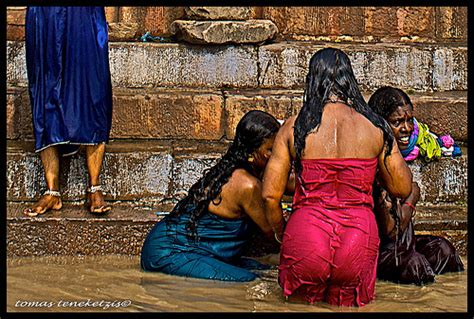 indian girl bathing in bathroom women bathing in ganga river art for a bathroom