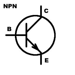 npn resistor symbol measure the value of transistor my electronic
